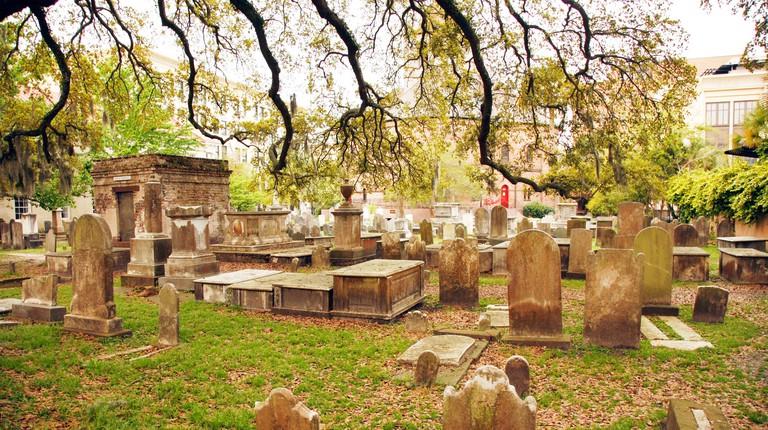 St. Philips Church Graveyard - churchyard - Charleston, South Carolina