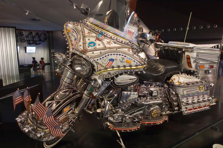 Harley Davidson Museum, Milwaukee, Wisconsin, USA