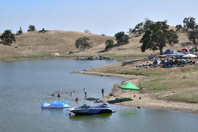 Hensley Lake Corps of Engineers Campground, Madera CA