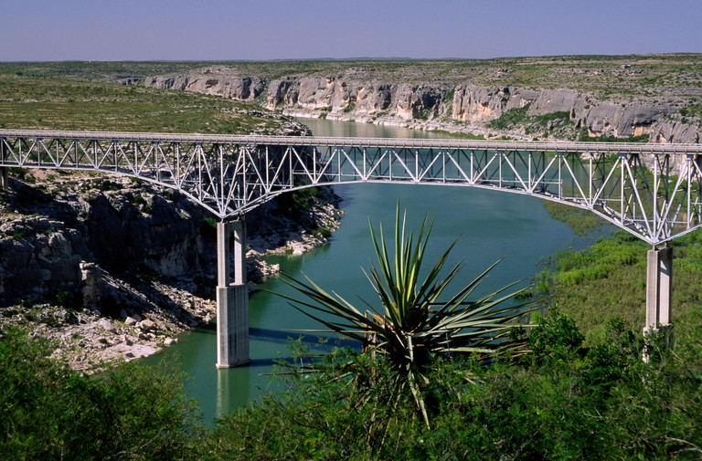 Pecos River High Bridge, Amistad National Recreation Area, Texas.