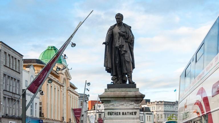 Father Mathew statue in Cork City, County Cork, Ireland