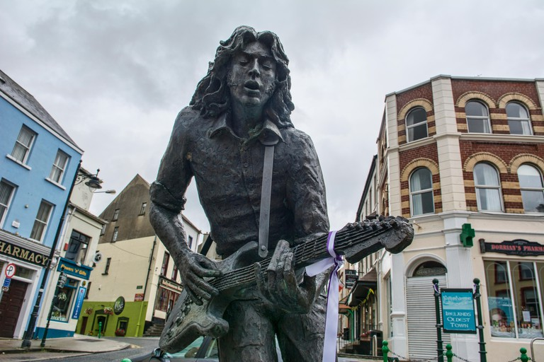Rory Gallagher Statue Ballyshannon Donegal