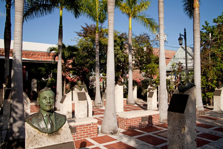 Key West Historic Memorial Sculpture Garden, Key West, Florida Keys, Florida, USA