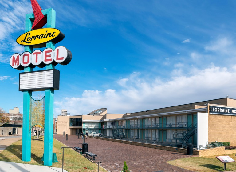 The National Civil Rights Museum at the Lorraine Motel, Memphis,Tennessee, USA