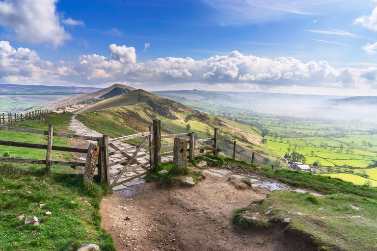 Mam Tor in the English Peak District