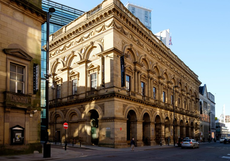 Now the Radisson Blu Edwardian Hotel, Manchester, once the Manchester Free Trade Hall