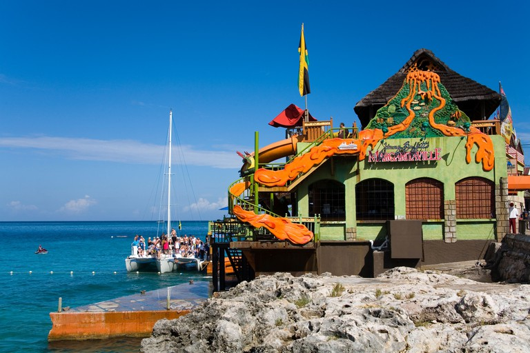 Margaritaville Pub on the Hip Strip, Montego Bay, Jamaica, West Indies, Caribbean, Central America