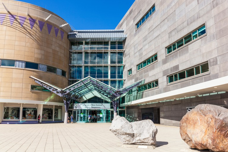 NEW ZEALAND WELLINGTON NEW ZEALAND Museum of New Zealand Te Papa Tongarewa national museum and mixed art gallery wellington waterfront new zealand