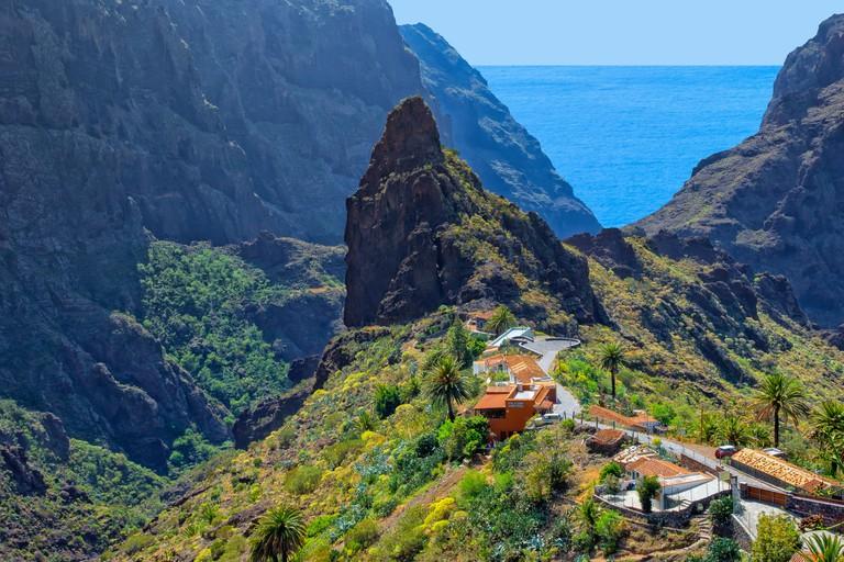 The village of Masca, Tenerife