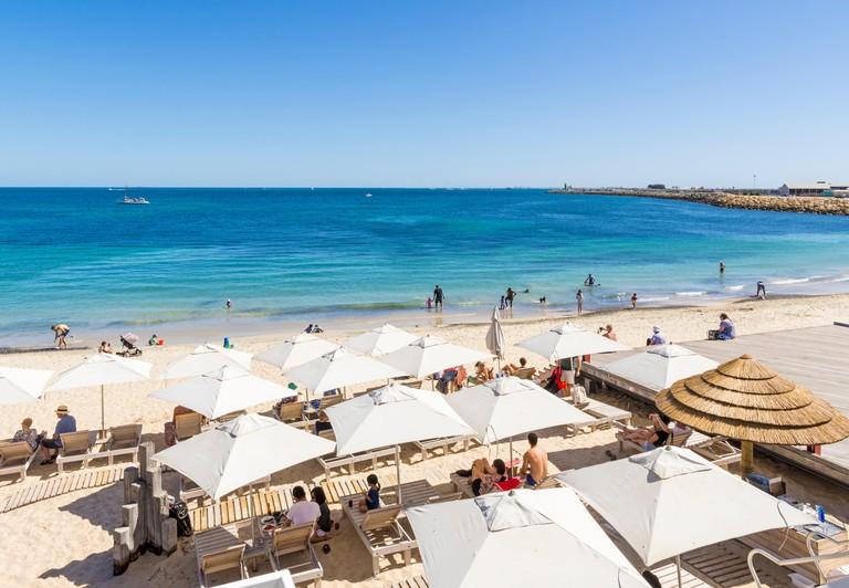 Popular Bathers Beach, Fremantle, Western Australia, Australia