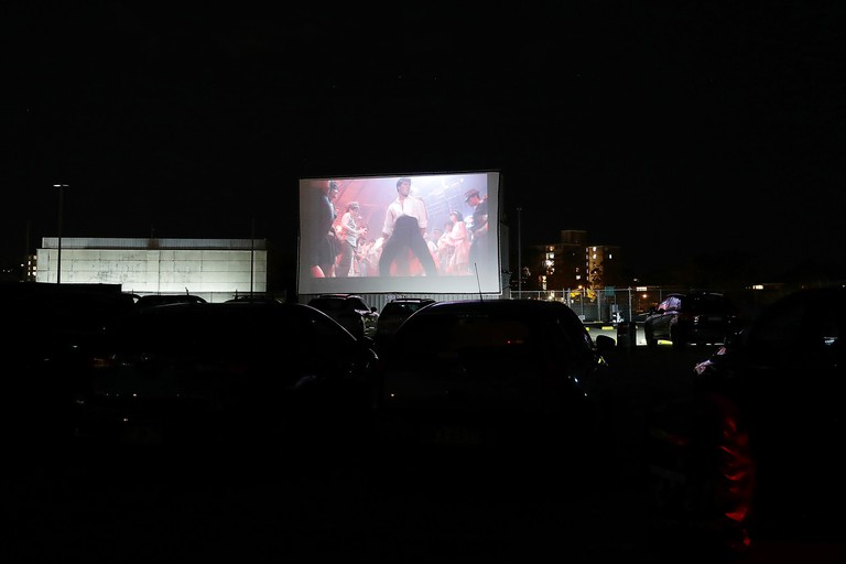 Sydney Outdoor Cinema Reopens As Drive In As Coronavirus Restrictions Ease