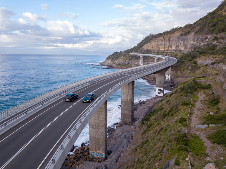 Sea Cliff Bridge on Grand Pacific Drive