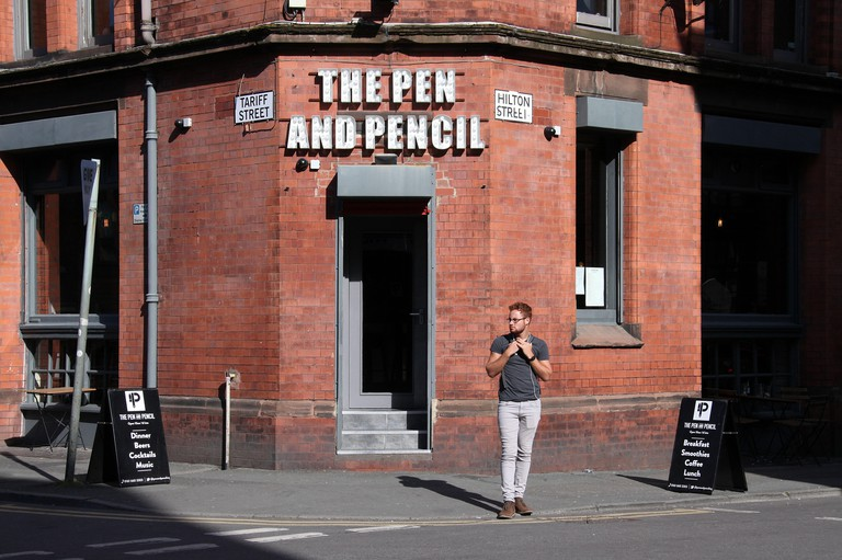The Pen and Pencil Eatery in the Northern Quarter of Manchester