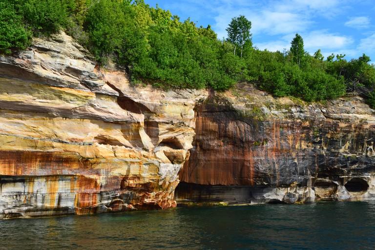 Pictured Rocks National Lakeshore  Munising, Michigan