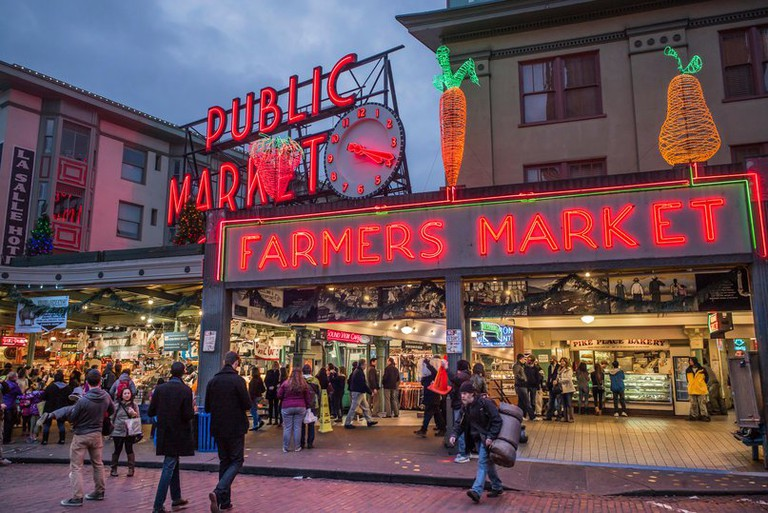 United States, Washington, Seattle, Pike Place Market