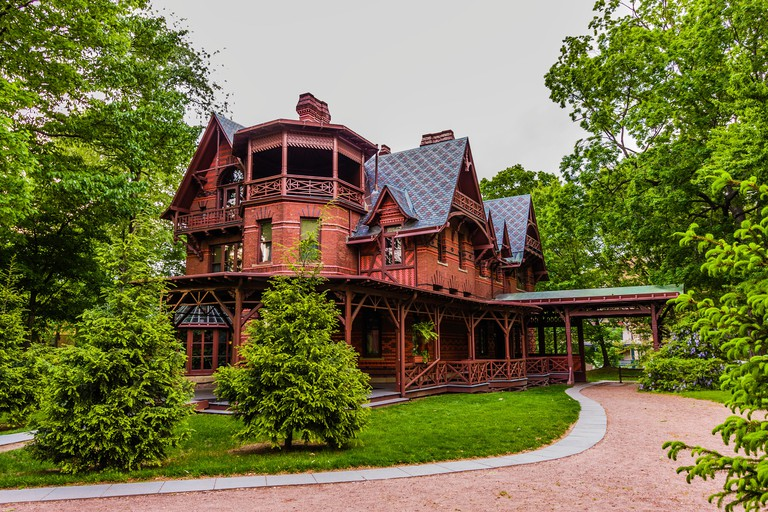Mark Twain House _ Hartford, Connecticut, USA