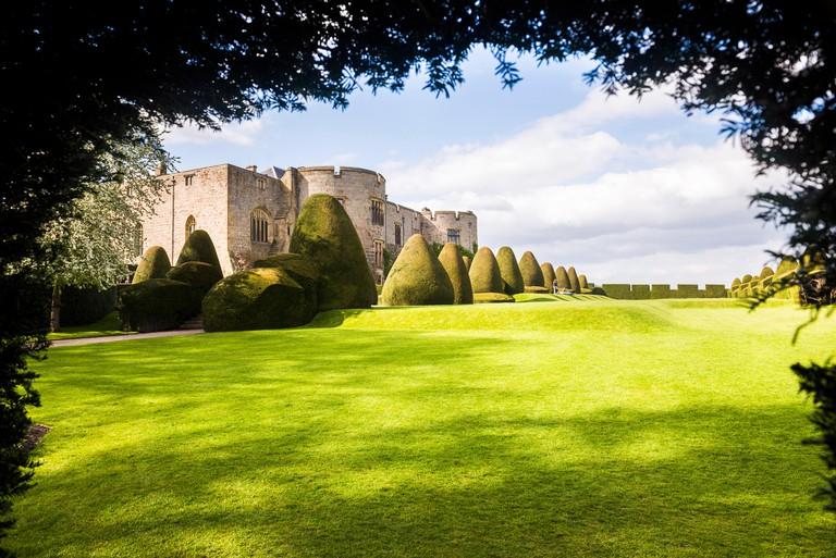 Chirk Castle, near Wrexham, North Wales, United Kingdom, Europe