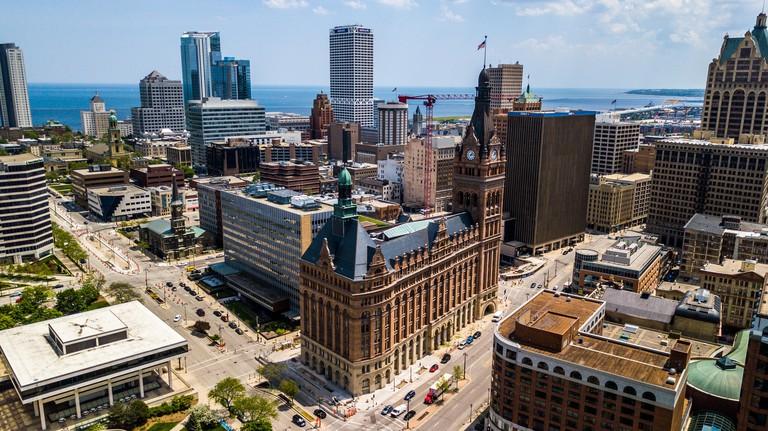 Milwaukee City Hall Building, Milwaukee, WI, USA