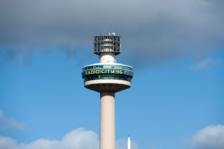 Radio City revolving tower Liverpool UK. Image shot 2010. Exact date unknown.