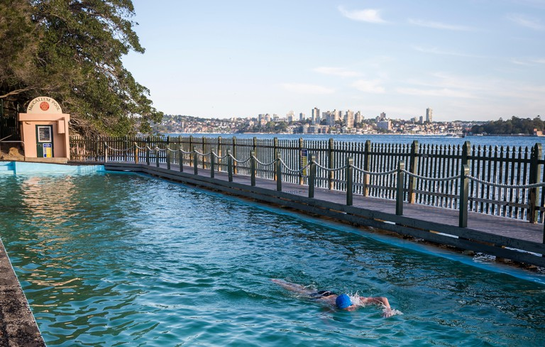Maccallum Seawater Pool, Cremorne Point, Sydney, NSW, Australia