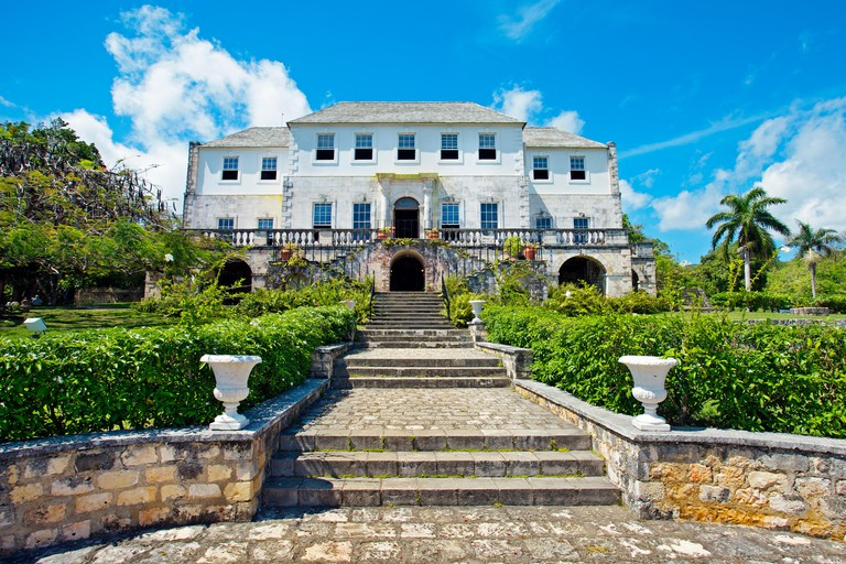 Rose Hall Great House built in 1770, near Montego Bay, Jamaica, West Indies, Caribbean, Central America.