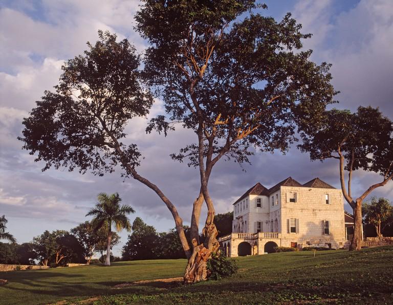 near Montego Bay Jamaica Rose Hall great house