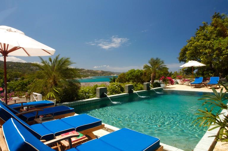 Round Hill Hotel, Jamaica, Caribbean