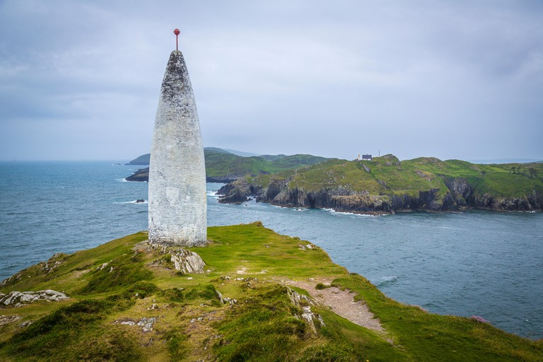 White Beacon near Baltimore, West Cork, Ireland