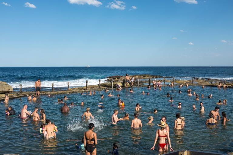 Mahon Pool, Maroubra, Sydney, NSW, Australia