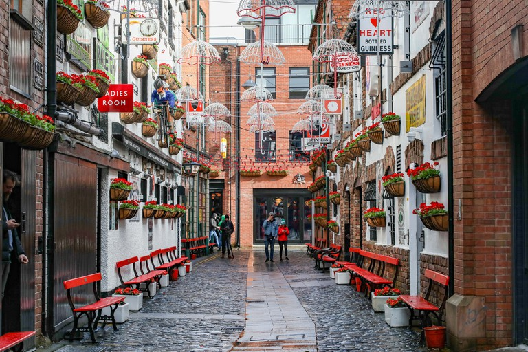 Commercial Court, Cathedral Quarter, Belfast, Northern Ireland