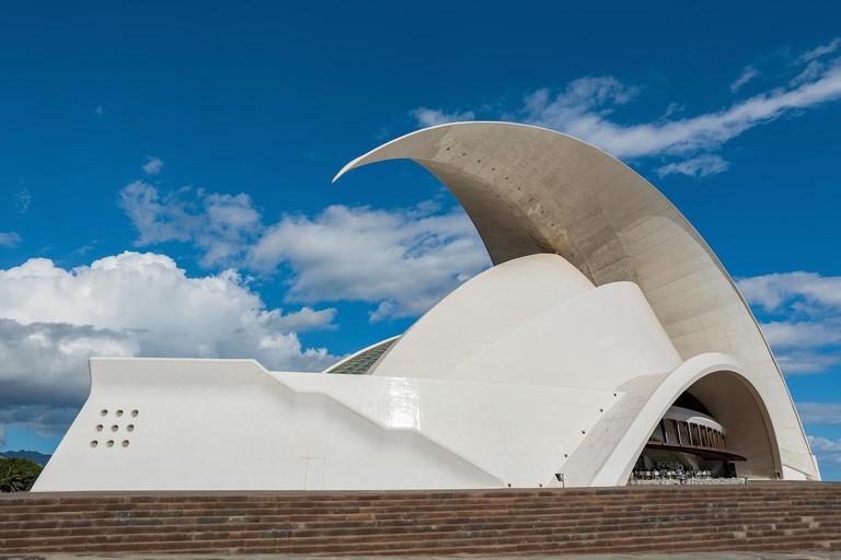 Auditorio de Tenerife Adan Martin, Santa Cruz de Tenerife, Spain