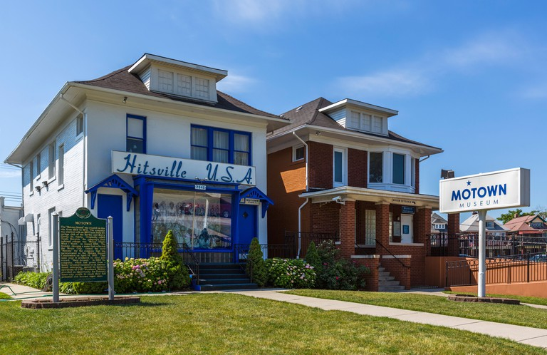 The Motown Museum, a recording studio from 1959-1972, Detroit, Michigan, USA