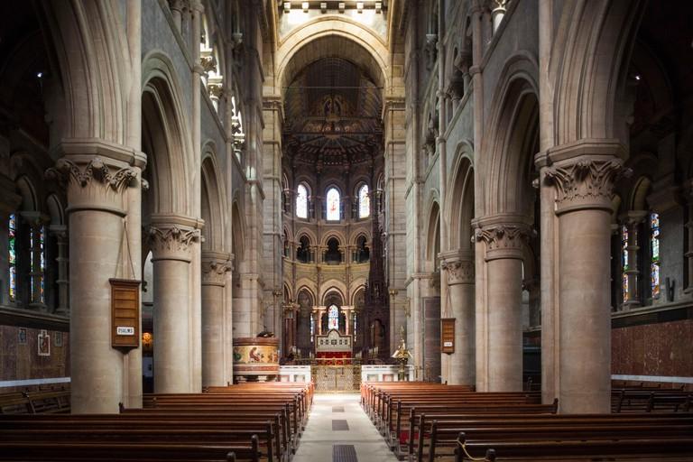 Ireland, County Cork, Cork City, St. Fin Barre's Cathedral, 19th century, interior