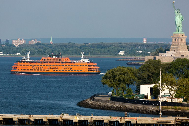 The Staten Island Ferry is one of the last remaining vestiges of an entire ferry system in New York City