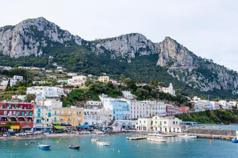 Marina Grande, general view, Capri, Italy