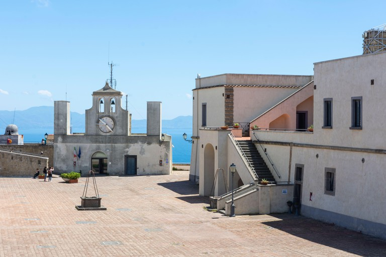 Castel sant'Elmo is a medieval castle, used as a museum, located on the Vomero hill near San Martino in Naples.
