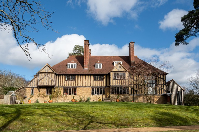 Limnerslease, the Watts house and studios at Watts Gallery Artists Village in Compton, Surrey, UK