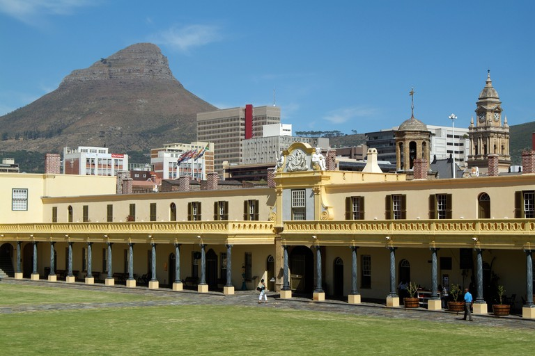 The Castle of Good Hope Cape Town South Africa and Lions Head mountain