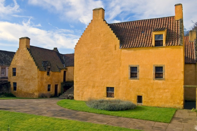 Culross Palace in Fife A popular tourist attraction.