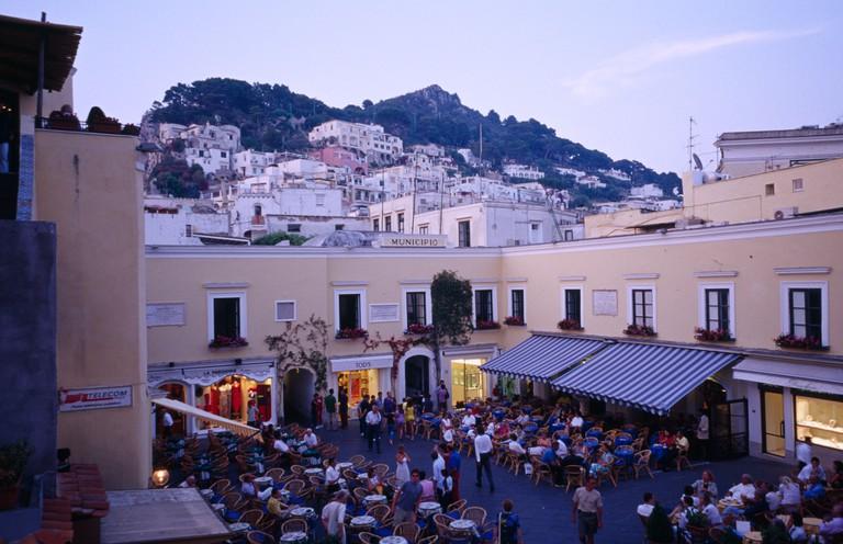 La Piazzetta Capri Italy
