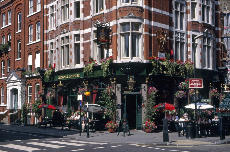 Crown and Sceptre Public House London England