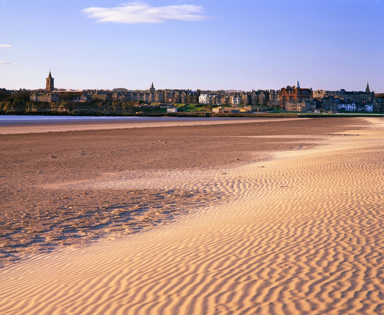 West Sands, St Andrews, Fife, Scotland, UK