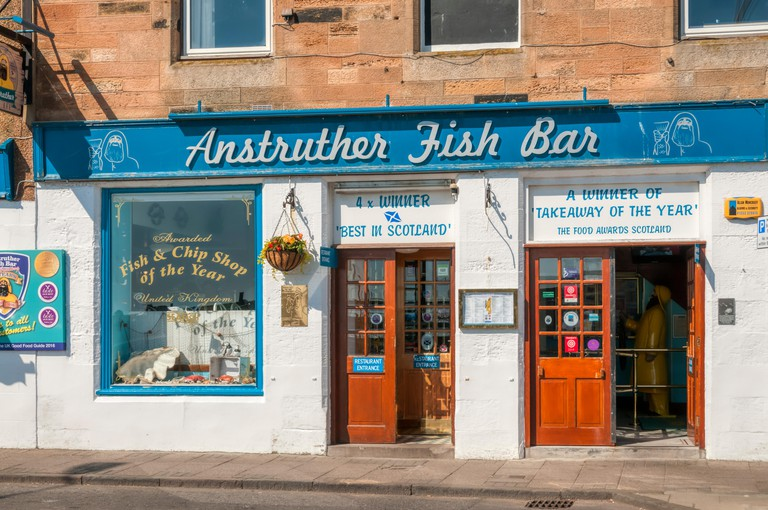 The Anstruther Fish Bar in the East Neuk of Fife, Scotland, was the UK Fish Shop of the Year in 2009.