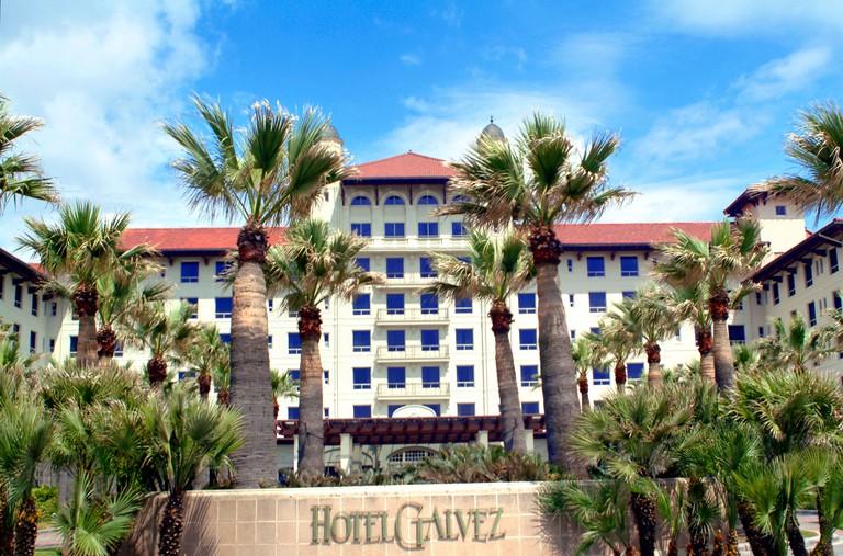 Hotel Galvez in Galveston Texas