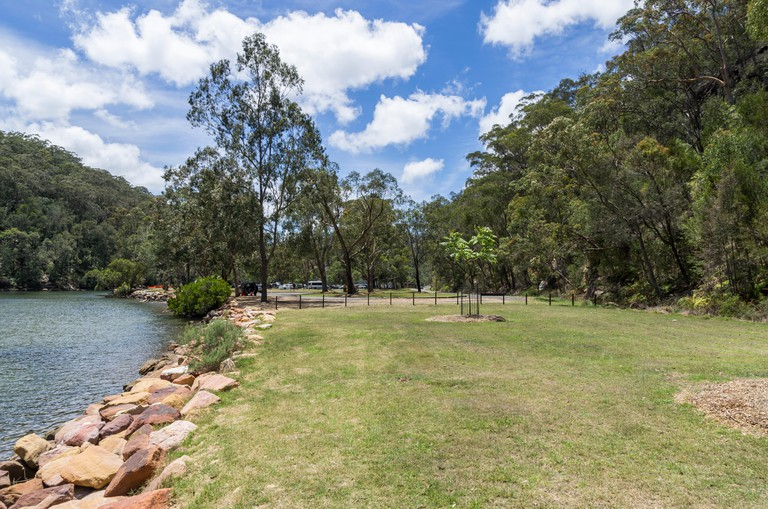 Apple Tree Creek picnic area in Ku Ring Gai Chase National Park just north of Sydney, Australia