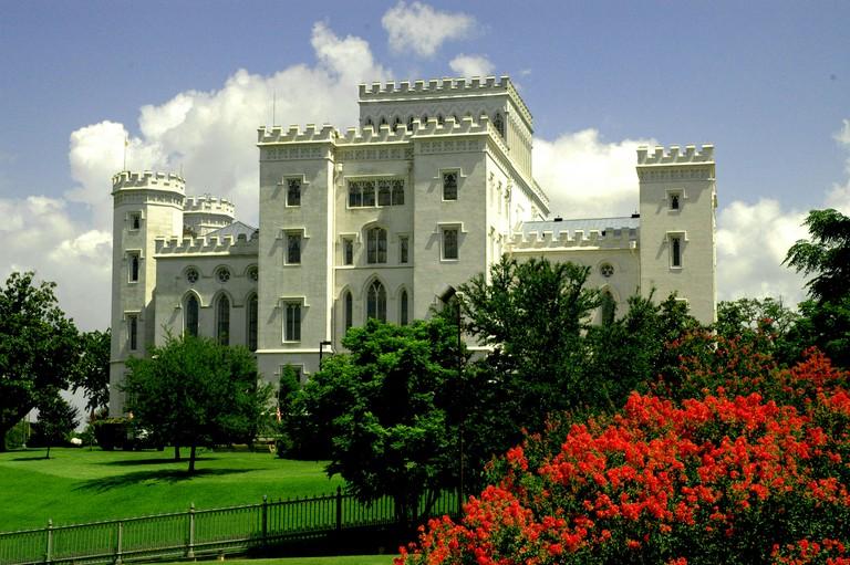 Baton Rouge LA Louisiana Old State Capitol Building