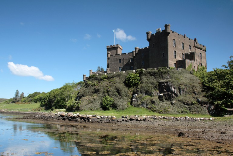 Dunvegan castle. Isle of Skye. Image shot 05/2008. Exact date unknown.