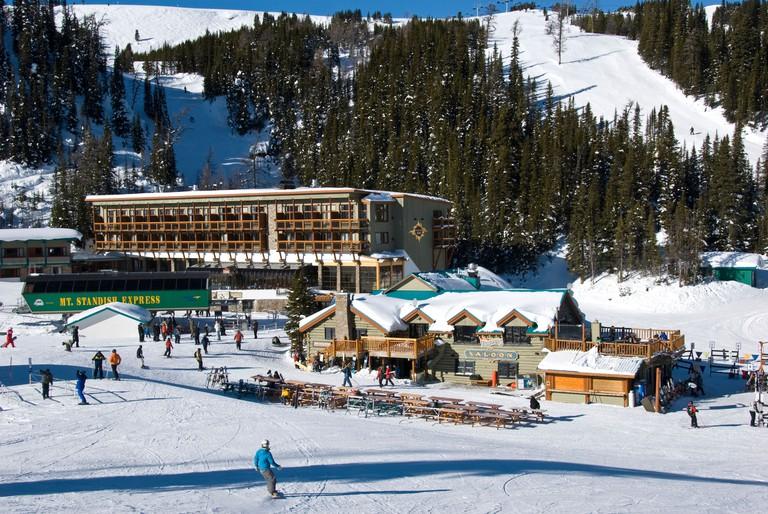 Sunshine Inn, Sunshine Village Ski Resort, Banff National Park, Alberta, Canada.