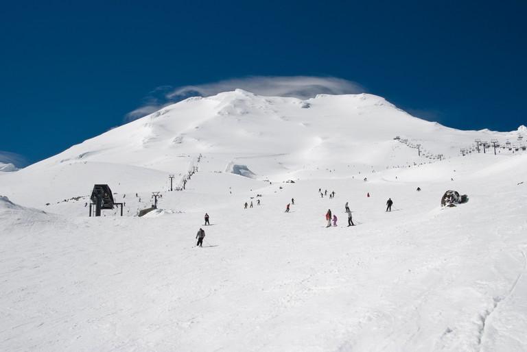 Turoa Skifield at Ruapehu