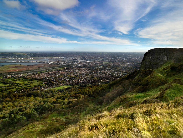 Cave Hill Belfast Northern Ireland. Image shot 2008. Exact date unknown.